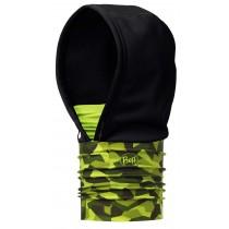 BUFF® Windproof Hoodie Erwachsene Schlauchschal Camo Green