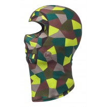 BUFF® Polar Balaclava Junior & Kinder Balaclava Block Skull Khaki