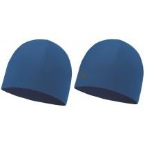 BUFF® Microfiber Reversible Hat Erwachsene Mütze Solid Blue Skydiver