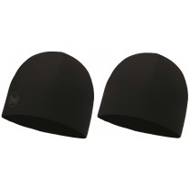 BUFF® Microfiber Reversible Hat Erwachsene Mütze Solid Black