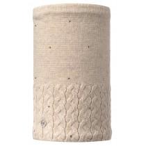 BUFF® Knitted & Polar Neckwarmer Elie Erwachsene Schlauchschal Beige