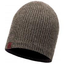 BUFF® Knitted & Polar Hat Lyne Erwachsene Mütze Brown Taupe