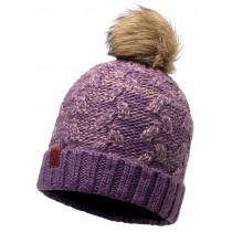BUFF® Knitted & Polar hat Kiam Erwachsene Mütze Deep Grape