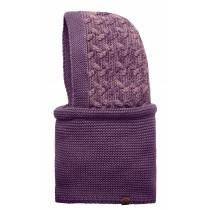 BUFF® Knitted Hood Kiam Erwachsene Schlauchschal Deep Grape