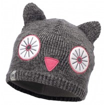 BUFF® Knitted & Polar Hat Kinder Mütze Shila Grey Vigore