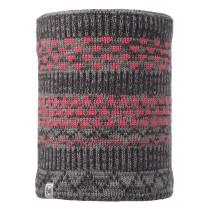 BUFF® Knitted & Polar Fleece Neckwarmer Kinder Schlauchschal  Grey Vigore