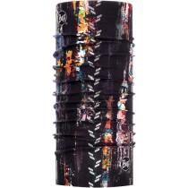 BUFF® REFLECTIVE, R-Graffiti Black, Erwachsene, Multifunktionstuch