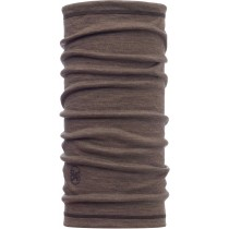 BUFF® 3/4 LIGHTWEIGHT MERINO WOOL, Solid Walnut Brown, Erwachsene, Multifunktionstuch