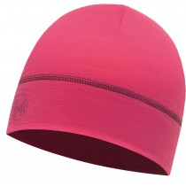 BUFF® LIGHTWEIGHT MERINO WOOL 1 LAYER HAT, Solid Wild Pink, Erwachsene, Mütze