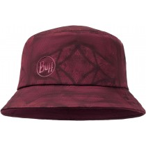 BUFF® TREK BUCKET HAT, Calyx Dark Red, Erwachsene, Hut