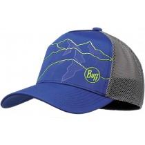 BUFF® TRUCKER TECH CAP, Solid Cape Blue S/M, Erwachsene, Kappe