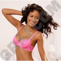 NUANCE Bügel BH, Bügel-BH, Größe 80D, Farbe pink, Dessous Wäsche Damen