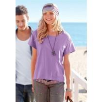 Quadratshirt Shirt T-Shirt für Damen, lavendel, von chillytime, Größe 36/38