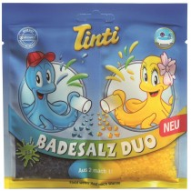 Tinti Badesalz Duo blau/gelb